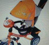 велосипед трехколесный детский с муз. панелью