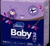 Молочная смесь с 6-12мес Valio baby 2