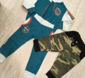 Костюм, штаны, олимпийка , бриджи 86-92