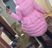 Куртка розовая новая зефирка