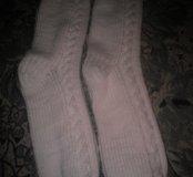 Носки вязоные ручная работа