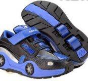 Новые кроссовки с колесиками Heelys р.31