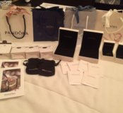 Пакеты и коробочки Pandora