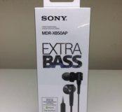Наушники и Bluetooth-гарнитура Sony MDR-XB50AP