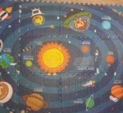 Игровой коврик Mambobaby пазл