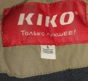 Новая зимняя теплая куртка kiko