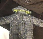 Три детские куртки демисезон и зимняя