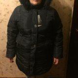 Новое зимнее пальто р60