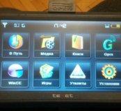 GPS навигатор + держатель к нему