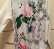 Джемпер-блузка