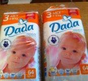 Памперсы Dada размер 3
