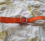 Ярко-оранжевый ремень