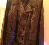 Куртка кожаная р.48-50
