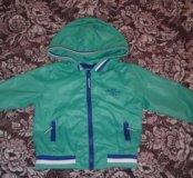 Курточка-ветровка р.80