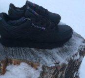 Reebok classic зима черные 36-40