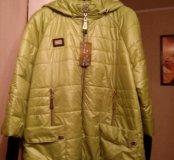 Фирменная куртка. Стильная. Размер 58-60.