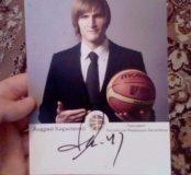 Продам фотографию баскетболиста