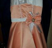 Продам платье в стиле стиляг с шубкой