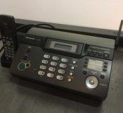 Радиотелефон факс Panasonic KX-FC966RU