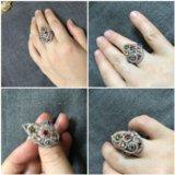 Кольцо новое серебро 925