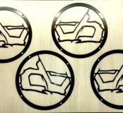 Плоские грили (защитные сетки) под 20 динамик.