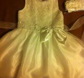 Нарядное платье 130 размер
