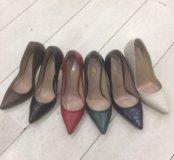 Туфли турецкие кожаные