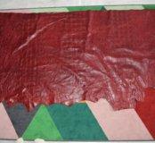 Кожа Монголия. Цвет бордовый
