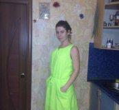 Платье Яркое