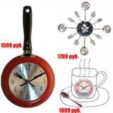 🎄Настенные оригинальные часы для дизайна кухни