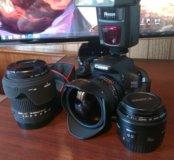 Canon 600d фотоаппарат (тушка) АКТУАЛЬНО