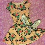 Платье оетнее