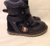 Ботинки детские зимние размер 30
