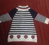 Тёплый пуловер