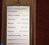 Айфон 5s gold 16