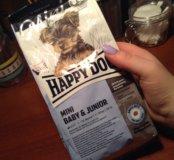 Корм Happy Dog для щенков и молодых собак