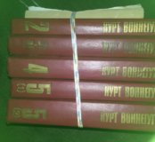 Книги Курт Воннегут (5+1 шт)