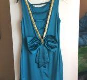 Новое платье.Стало велико,не одевалось ни разу.