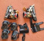 Роликовые коньки Rollerblade 36-40 р-р + защита+