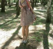 Весеннее платье
