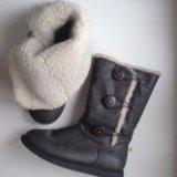 Зимние сапоги keddo натуральная овчина