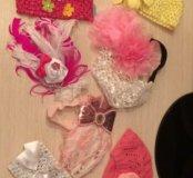 повязки на голову для девочек малышек