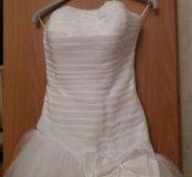 Свадебное платье с химчистки