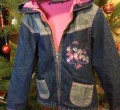 Куртка весен дев 5-7 лет