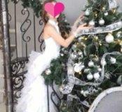 Платье из свадебного салона