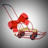 Санки-вездеходы с колесами