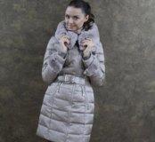 Куртка пуховик женская р. 48-50