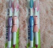 """Набор зубных щеток """" для нее  и для него""""))"""