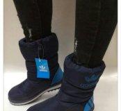 Новые милые дутики adidas  р.35