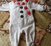 Костюмчик снеговика Мазекея